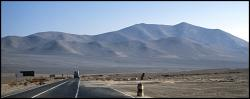 Pustynia Atacama miedzy Antofogastą a Chanaral